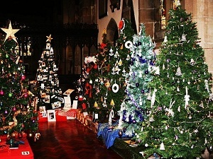 Chesterfield church Festival of trees