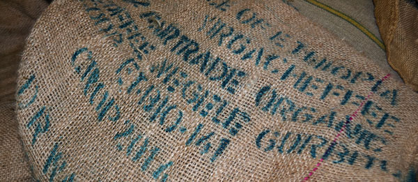 Monsoon Estate Coffee sacks